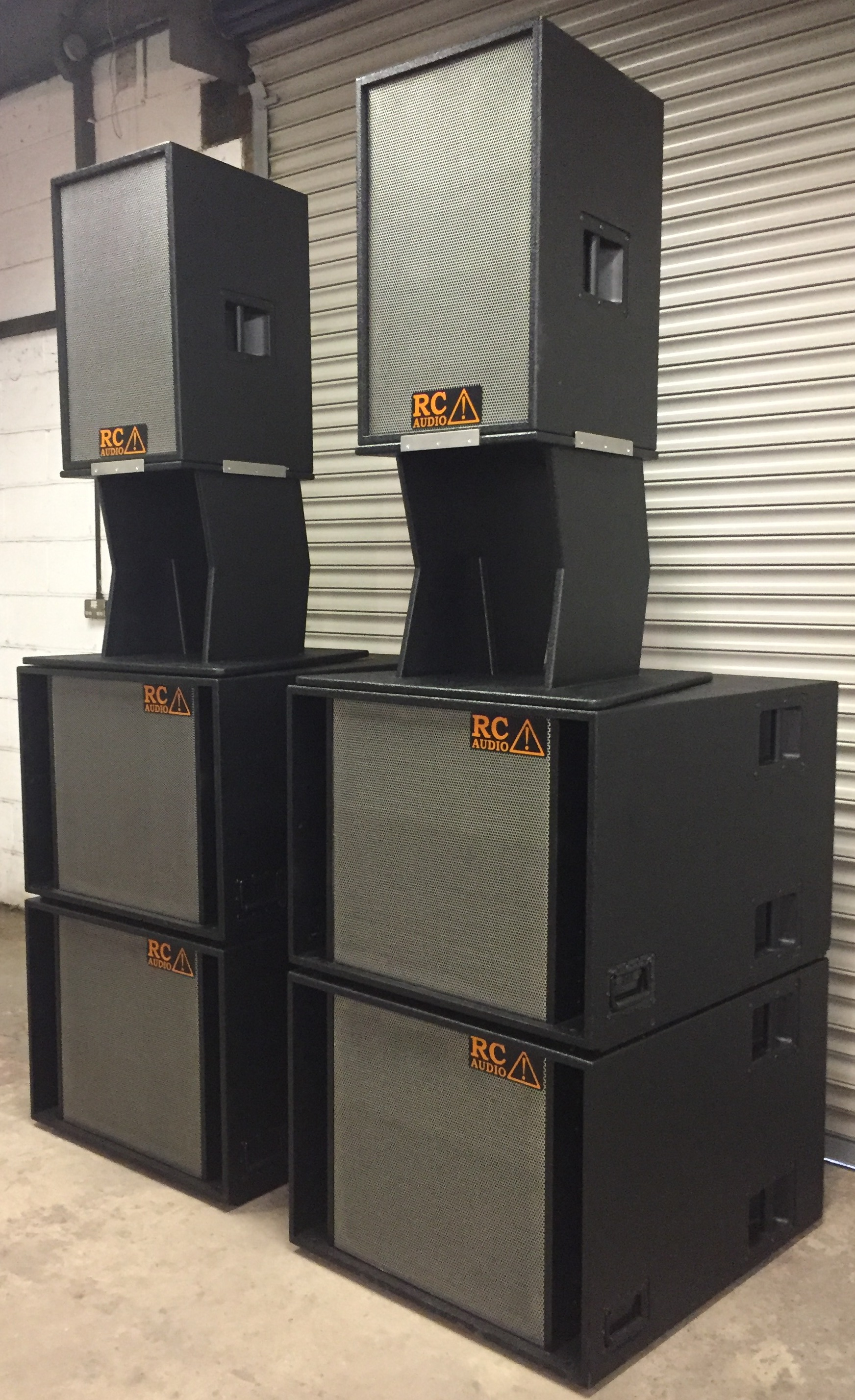 RC Audio Systems stacks
